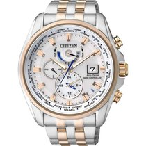 Citizen Elegant Eco Drive Funk Herrenchronograph AT9034-54A