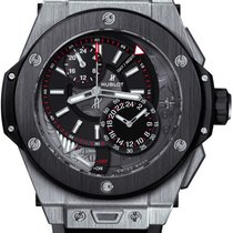 恒寶 (Hublot) [NEW] Big Bang Alarm Repeater Black Dial GMT...