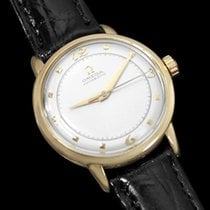 Omega 1953 Vintage Mens Mid Century Automatic Watch - 14K Gold
