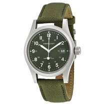 Hamilton Men's H69419363 Khaki Field Watch