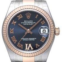 Rolex Datejust 31 Edelstahl Everose Oyster-Band Purple R Dia