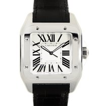 卡地亚 (Cartier) Santos Stainless Steel White Automatic W20073X8