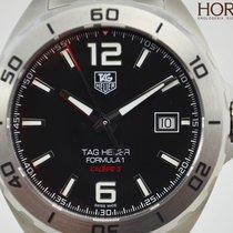 TAG Heuer FORMULA 1 CALIBRE 5 AUTOMATIC BLACK DIAL  WAZ2113.BA...