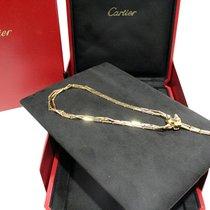 Cartier Panthere Necklace Gold 18Kt Diamond Peridot Onyx Black