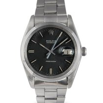 Rolex Oysterdate  Steel with Black Dial 6694