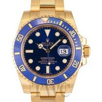 Rolex Submariner Blue Dial - 116618