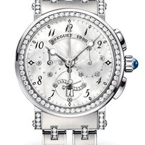 Breguet Brequet Marine 8828 18K White Gold & Diamonds...