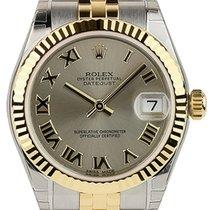Rolex Datejust 31 Steel Dial Roman Fluted Bezel Jubilee Links...
