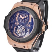 Hublot 705.OM.0007.RX King Power 48mm Manufacture Tourbillon...
