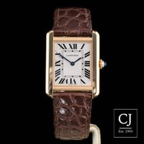 Cartier Tank Solo Small Model Rose Gold & Steel New