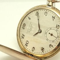 Vintage pocket watch from collection A Petit Paris gold-plated...