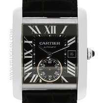 Cartier stainless steel Tank MC