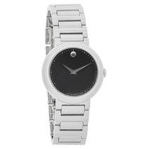 Movado Concerto Series Ladies Black Dial Swiss Quartz Watch...