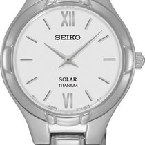 Seiko Solar SUP277P1 Elegante Damenuhr Sehr Elegant