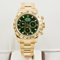 Rolex  40mm Gold Daytona 116508 Green Dial Newest Edition