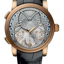 Ulysse Nardin Classic Stranger 18K Rose Gold Men's Watch