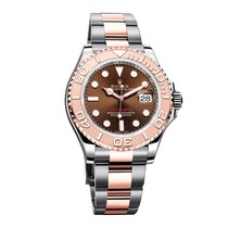 Rolex Yacht Master 40mm Stainless Steel and 18K Everose gold...