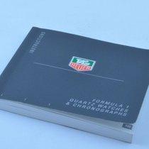 TAG Heuer Manual Anleitung Formula 1 Quartz & Chronograph
