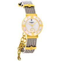 Philippe Charriol St. Tropez Ladies Diamond Cuff Watch...