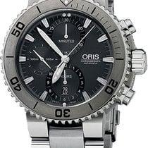 Oris Diver Aquis Titan Chronograph 674.7655.7253.MB