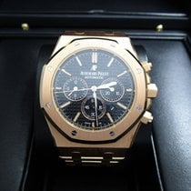 Audemars Piguet Royal Oak Chronograph 18K Rose Gold/Black Dial