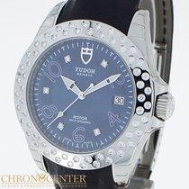 Tudor Prince Date Stahl/Leder Diamanten  Box &Papiere...