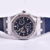 Audemars Piguet Royal Oak Dual Time Blue 26124ST