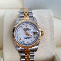 Rolex Full Set last T-Serie 69173 Date Just Gold no stretch LC100