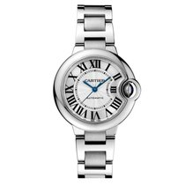 Cartier Ballon Bleu Automatic 33mm Ladies Watch Ref W6920071
