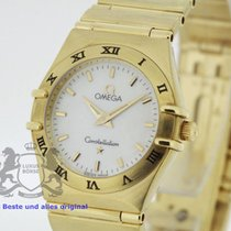 Omega Constellation solid 18K Gold MoP Dial Box & Papers...