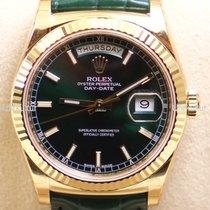 Rolex Day Date, Ref. 118138, grün Ind. ZB-vers. Zifferblätter