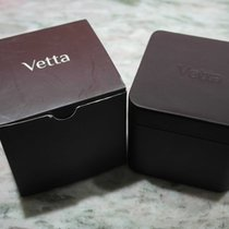 vetta vintage watch box brown newoldstock with outer case