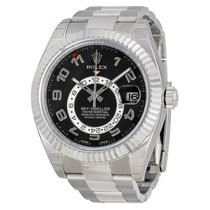 Rolex SKY-DWELLER 42mm 18K White Gold Watch