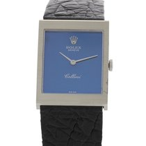 Ρολεξ (Rolex) Men's Vintage Rolex Cellini 18K White Gold 4014