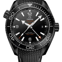 Omega Planet Ocean 600m DEEP BLACK Co-Axial Master Chronometer...