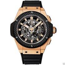 ウブロ (Hublot) King Power UNICO Chronograph Gold 48mm 701.OQ.018...