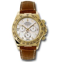 롤렉스 (Rolex) Rolex Daytona Yellow Gold - Leather Strap