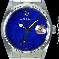 Rolex Datejust Lapis Lazuli Dial 16200 Unpolished Steel B/p