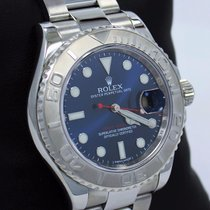 Rolex Yacht Master 116622 40mm Blue Oyster Perpetual Platinum...