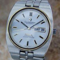 Omega Constellation Chronometer Automatic Swiss 18k & SS...