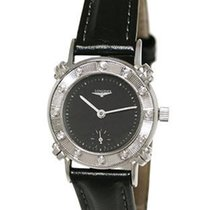 Longines Manual Wind 12 Diamond Art Deco Wristwatch 14K White...