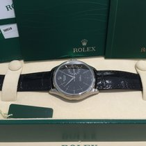 Rolex Cellini Date 50519 18K Whitegold Box Papers UNWORN