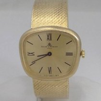 Baume & Mercier Mens Ladies Vintage 14k Yellow Gold Baume ...