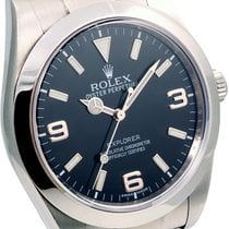ロレックス (Rolex) Rolex Mens SS Explorer 39mm - 214270