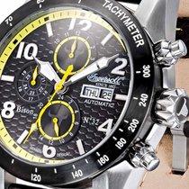 Ingersoll Bison No. 62 IN1407BKYL Automatik gelb schwarz 49mm