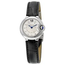 Cartier Ladies W4BB0008 Ballon Bleu Silver Diamond Watch