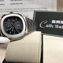 Patek Philippe Cally - PP 5990/1A Steel Nautilus Chronograph...