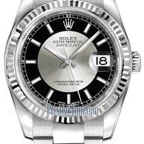 Rolex Datejust 36mm Stainless Steel 116234 Black/Silver Index...