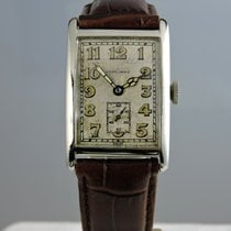 Longines 1927 White Gold cal. 10.26 Square Watch - serviced