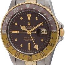 Rolex GMT-Master ref# 1675 SS/14K YG circa 1971